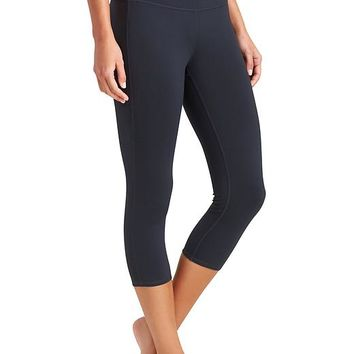 Athleta Womens High Rise Chaturanga Capri