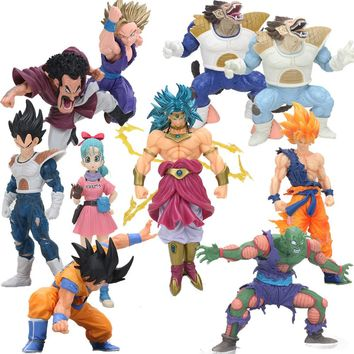 Scultures BIG Budokai Tenkaichi 7 Dragon ball Z Figure Toys Super Saiyan Son Goku Gohan Vegeta Broly Ohzaru Action Figures Model