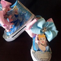 Princess Cinderella Birthday Party Shoe (CONVERSE)