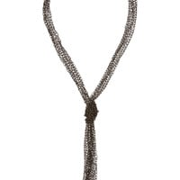 Rosantica - Penelope oxidized gold-dipped necklace