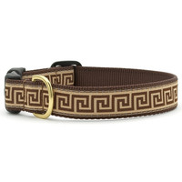 Greek Key Dog Collar