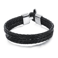 New Arrival Stylish Jewelry Shiny Men Ring Strong Character Bangle [10783256707]