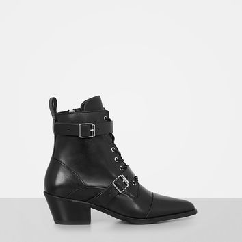 ALLSAINTS CA: Womens Lucie Boot (black)