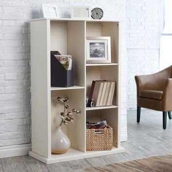 The Caldwell Stacking Bookcase - Vanilla - Walmart.com