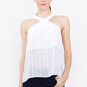 Sheer Cover Top