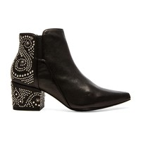 Belle by Sigerson Morrison Cynn Bootie in Black