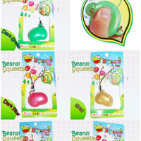 Kawaii Beans Squeeze Toy Charms