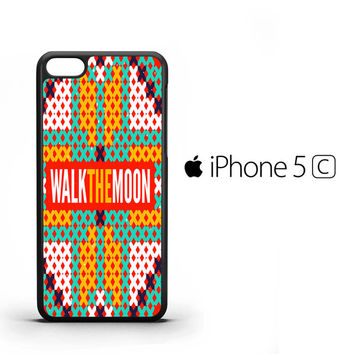 walk the moon band logo Z0448 iPhone 5C Case