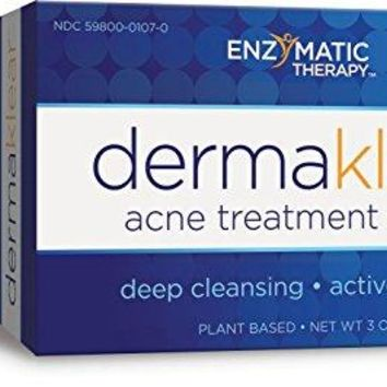 Enzymatic Therapy Derma Klear Acne Treatment Soap, 3 Ounce