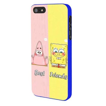 Spongebob And Patrick Best Friend iPhone 5 Case Available for iPhone 5 iPhone 5s iPhone 5c iPhone 4/4s
