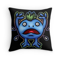 'Nu' Throw Pillow by likelikes