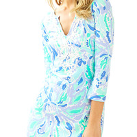 MARINA DRESS - LILLYS LILAC NICE INK from Ocean Palm and Lilly Pulitzer