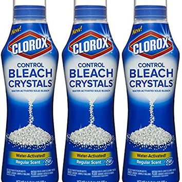 Clorox Control Bleach Crystals, Regular, 72 Ounce Bottle