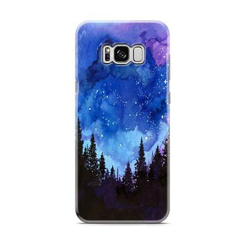 water colour blue spind Samsung Galaxy S8 | Galaxy S8 Plus case