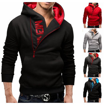 Summer Alphabet Zippers Hoodies Men Jacket [6528653955]