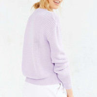 Glamorous Textured Sweater - Urban Outfitters