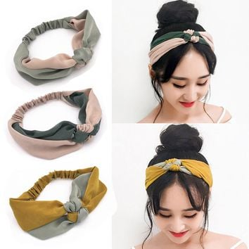 Women Headband Knotted