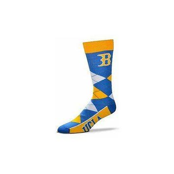 NCAA UCLA Bruins Argyle Unisex Crew Cut Socks - One Size Fits Most