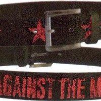Rage Against The Machine Belt - Red Stars