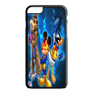 Mickey Mouse, Donald Duck and Goofy iPhone 6S Plus Case