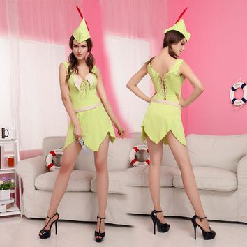LMFON Costumes stage performance clothing Pretty Green Fairy princess dress cosplay [8979073863]