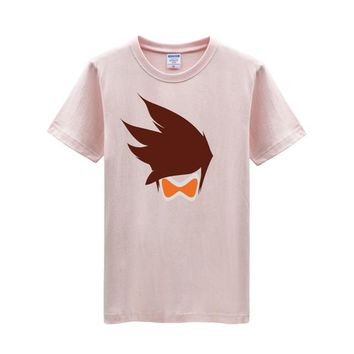 Overwatch Tracer Hero Icon T-Shirt