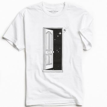 UO Artist Editions Dustyn Peterman Cosmic Doorway Tee