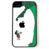 iPhone 4 Case - Hardshell Protective iPhone 4/4s Case - The Giving Tree