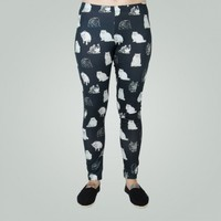 MULTIPLE CATS LEGGING - Chinos & Pants - Clothing - Girls | Boathouse Stores