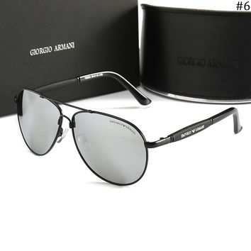 Giorgio Armani trend men's fashion polarized sunglasses #6