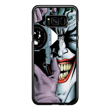 Joker Harley Quinn Batman Avengers Samsung Galaxy S8 Plus Case