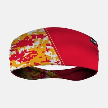 Arsenal Digi Camo Red Yellow White Headband