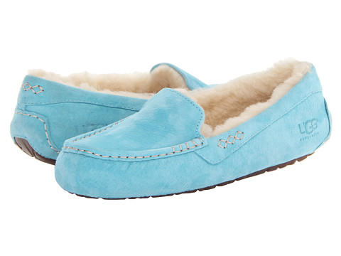 UGG Ansley Blue Curacao Suede - Zappos.com Free Shipping BOTH Ways