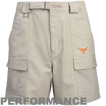 Columbia Texas Longhorns Khaki Half Moon Performance Shorts