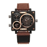 MEN RECTANGLE CASE WATCH