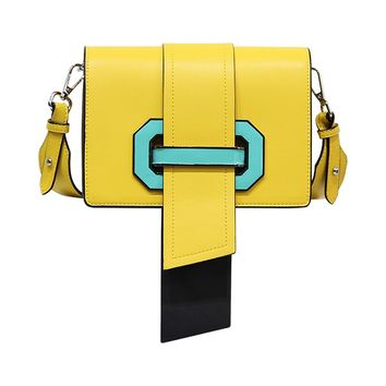 Indie Designs Plex Ribbon Geometric Bag