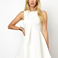 AQ AQ Major Structured Skater Dress