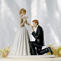 Like Cinderella Fantasy Wedding Cake Topper