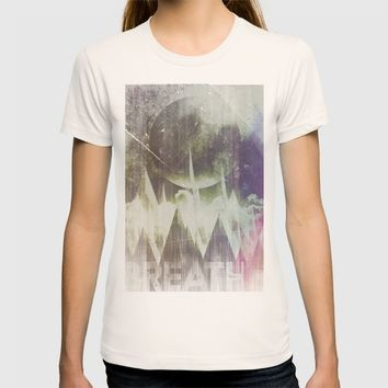 When mountains fall asleep T-shirt by HappyMelvin | Society6