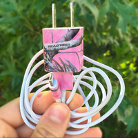 Pink realtree camo iphone 5 5c 6 6s charger