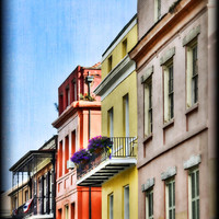 French Quarter In Summer