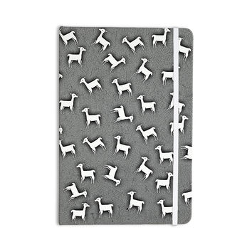 "Monika Strigel ""Llama Multi"" Gray Everything Notebook"