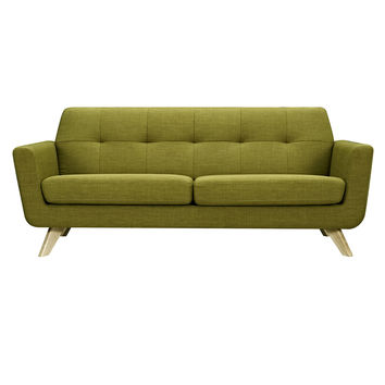 Dania Sofa Avocado Green - Natural