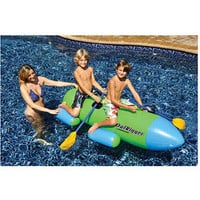 """Walmart: Swimline OutRigger 77"""" Inflatable Ride-On Pool Toy"""