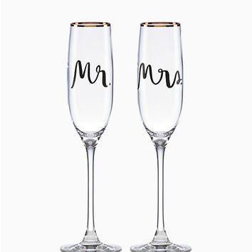 Bridal Party Flute Pair | Kate Spade New York
