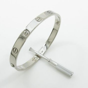 Authentic Cartier Love bracelet #260-002-318-9591