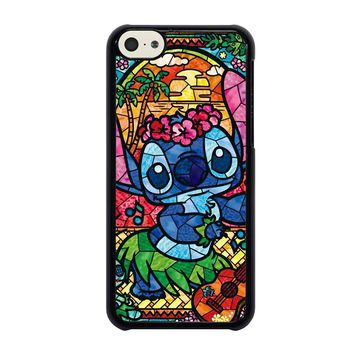 LILO & STITCH STAINED GLASS iPhone 5C Case