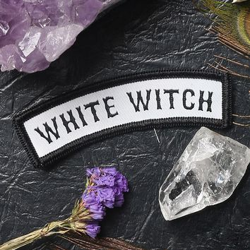WHITE WITCH PATCH
