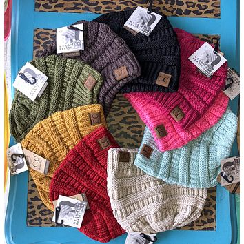CC ponytail beanie (other colors)