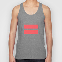 Infrared Equality Unisex Tank Top by RexLambo